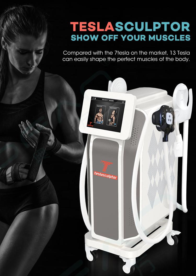 2020 trending aesthetic body EMSP machine belly fat reducing Emsp